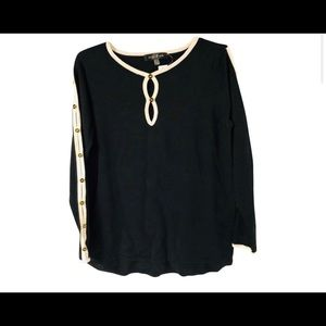 August Silk Sweater Size S